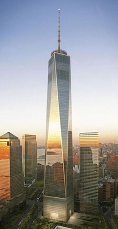 One World Trade Center: Stands at a symbolic 1,776 feet high!
