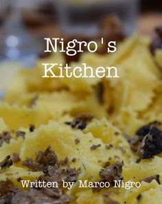 Nigro's Kitchen Recipe Book