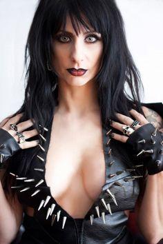 sister sin Sister Sin, Rockstar Energy, Street Goth, Heavy Metal Rock, Metal Girl, Female Singers, Goth Girls, Hard Rock, Rock And Roll