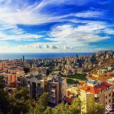 A beautiful view from Bsalim By Hasna Frangieh #WeAreLebanon #Lebanon #WeAreLebanon