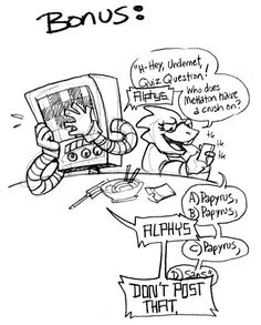 Undertale - Papyrus x Mettaton - Papyton - comic bonus