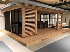 undefined When age-old with strategy, the pergola may be enduring a contemporary rebirth all these Backyard Cabin, Backyard Sheds, House Without Walls, Pergola With Roof, Gazebo, Pallet Garden Furniture, Outdoor Living Rooms, Container House Design, Wooden Decks