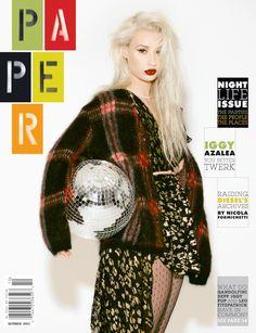 Iggy Azalea for Paper Magazine October 2013 // Photography: Harper Smith - Style: Andrew Mukamai