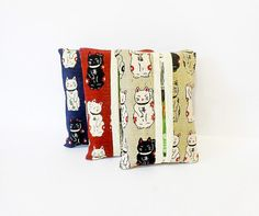 Tissue Holders  Trio of Cats by handjstarcreations on Etsy, $12.00