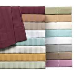 Gorgeous Delray 600 Thread Count Diamond Embroidered Hemstich Solid or Striped 6-piece Sheet Sets on sale today!  http://www.overstock.com/9977469/product.html?CID=245307