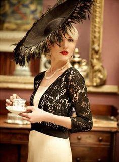 Rianne dress with Mark T Burke Millinery Hat