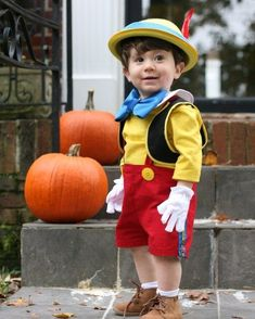 Pinocchio DIY Halloween Costume