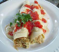 Chicken Enchiladas. Any type of enchiladas are good enchiladas.