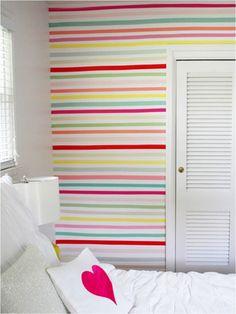 Veja ideias para decorar as paredes do quarto de bebê e crianças! Deixe o ambiente lindo com essas inspirações de papel de parede, adesivos e lousas!