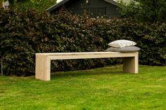 Tische - Bank aus Bauholz - ein Designerstück von purewooddesign bei DaWanda