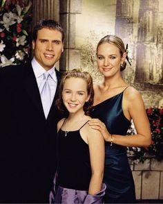 The Young & The Restless / Joshua Morrow as Nicholas Newman, Camryn Grimes as Cassie Newman and Sharon Case as Sharon Newman