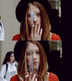 Taissa Farmiga | Oh my, I love her hair, her hat, her dress:)