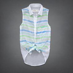 girls hallie shirt | girls fashion tops | abercrombiekids.com