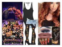 """""""🇬🇧❤️FARRAH❤️🇬🇧 BarraMania 3"""" by thenxtdiva ❤ liked on Polyvore featuring Ksubi, Steve Madden, Beaufille and NYX"""