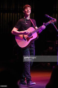 Shawn Mendes performs at Fillmore Miami Beach on April 8 2015 in Miami Beach Florida