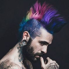 Punk Hairstyles For Guys