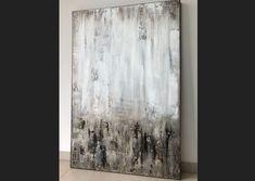 """Freue mich, euch diesen Artikel aus meinem Shop bei #etsy vorzustellen: VICTORIA XL Acryl Gemälde """"Terra Light"""" 80x120cm Abstrakt Acrylic Painting Techniques, Pastel Art, Acrylic Art, Victoria, Creative, Abstract Art, Tapestry, Fine Art, Drawings"""