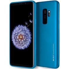 Mercury Goospery iJelly Samsung Galaxy S9 Plus Gel Case - Blue