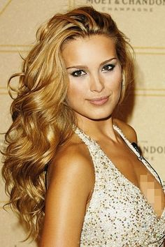 liking this golden-darker blonde... a lot less maintenance since it would be closer to my natural color