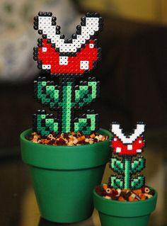 Super Mario inspiriert kleine eingemachte von BeadxBead auf Etsy