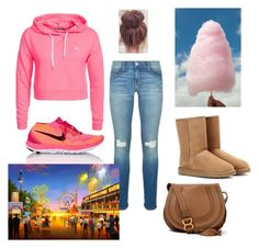 """""""State Fair """" by sharicelatray on Polyvore featuring Rebecca Minkoff, Only Play, NIKE, UGG Australia and Chloé"""
