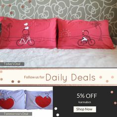Today Only! 5% OFF this item.  Follow us on Pinterest to be the first to see our exciting Daily Deals. Today's Product: ON SALE - 9R- Bike ride . Bed Pillow Cases / Covers Buy now: https://www.etsy.com/listing/465895809?utm_source=Pinterest&utm_medium=Orangetwig_Marketing&utm_campaign=christmans   #etsy #etsyseller #etsyshop #etsylove #etsyfinds #etsygifts #pillowcases #pillowcovers #originalgift #photooftheday #instacool #onlineshopping #musthave #instashop #instafollow #shopping…