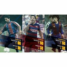 @luissuarez9 equals Diego Maradona and is set to draw even with Romário Luis Suárez iguala Maradona i es a punt d'atrapar a Romario Luis Suárez iguala Maradona y está a punto de empatar con Romario #FCBarcelona #IgersFCB