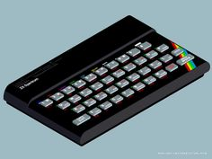 ZX Spectrum 48K wallpaper