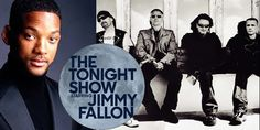 Will Smith and U2 set as first guests for 'The Tonight Show starring Jimmy Fallon'