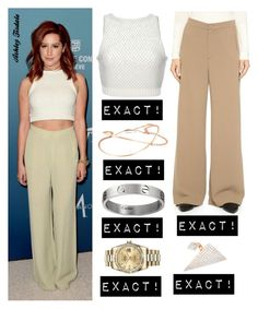 """""""Ashley Tisdale"""" by bpstealtheircloset ❤ liked on Polyvore featuring Apiece Apart, Rodebjer, Rolex, Marli, women's clothing, women, female, woman, misses and juniors"""