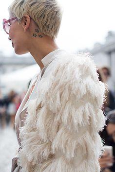 On the Street….Winter Whites, #London...HighBG / #Fashion, #FashionBlog, #FashionBlogger, #StreetStyle, #Style #HighBg