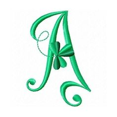 Embroidery Designs - Search Results for shamrock abc