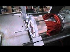 Oriental motor 5ik40gn st induction motor 40w 200 for Linear induction motor winding
