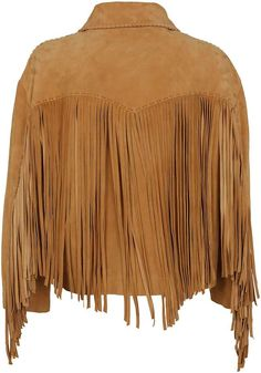 18 Best Fringed Jackets & Coats for Winter! Fringe Leather Jacket, Beaded Jacket, Western Chic, Country Fashion, Leather Dresses, Casual Fall Outfits, Western Outfits, Alberta Ferretti, Sweater Jacket