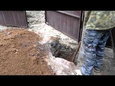 Как изготовить и установить ворота для забора из профнастила - Потолок-мастерПотолок-мастер