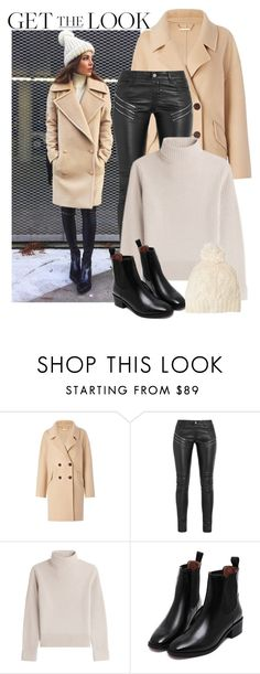 """Get the look: Negin Mirsalehi"" by gold-candle23 ❤ liked on Polyvore featuring Diane Von Furstenberg, Yves Saint Laurent, Vanessa Seward and SIJJL"