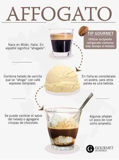 ¿Cómo preparar un affogato en casa? - Gourmet de México