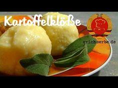 Kartoffelklöße (von: erichserbe.de) - Essen in der DDR: Koch- und Backrezepte für ostdeutsche Gerichte | Erichs kulinarisches Erbe