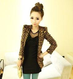 CHAQUETA LEOPARDO Color: Estampado leopardo Talla: 36-S, 38-M 40-L 42-XL Precio: 26.99  www.cocoylola.es #cocoylola #moda  #chaqetas #tiendaonline #shop #españa