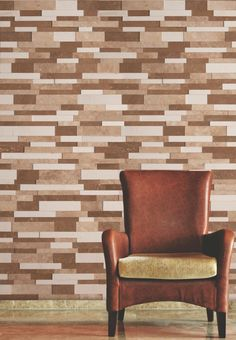 Bricks in the wall Brick In The Wall, Bricks, Marble, Living Room, Chair, Furniture, Home Decor, Decoration Home, Room Decor
