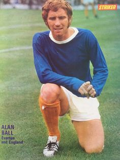 Alan Ball of Everton in 1970.