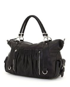 $39.95-$79.99 Kate Hill Jacklyn Tote, Black - This bag offers exciting and classic look. It provides plenty of room for the essentials that you need. Our handbags have many inside pockets and convenient outside pocket(s) to keep you organized. http://www.amazon.com/dp/B005FIHVVI/?tag=pin0ce-20