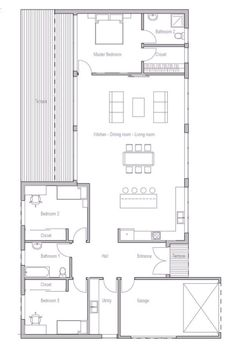 Minimalist Floor Plans two bedroom house plans inspiration for the small house