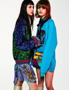 Matilda Dods & Peyton Knight wearing Marc Jacobs Resort '17. Shot by David Oldham, styled by Sophie Michaud for Madame Figaro