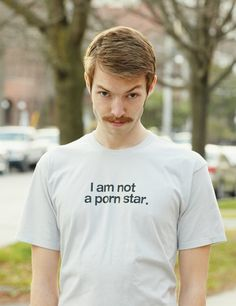 I Am Not Tee for Movember Foundation