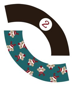 My Messy Manger: Free Sock Monkey Birthday Printables: Cupcake Wrappers Sock Monkey Party, Sock Monkey Birthday, Monkey Birthday Parties, 1st Boy Birthday, Birthday Ideas, Birthday Stuff, Cupcake Wraps, Cupcake Toppers, Thomas Birthday