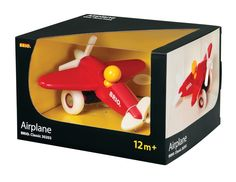 BRIO Classic Wooden Airplane 30203 [BRIO-30203] : KSStoys · Toys, Clothes & More · Kids Scandinavian Shop