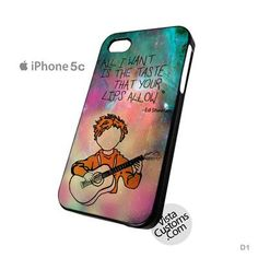 Ed Sheeran Guitar Galaxy New Hot Phone Case For Apple, iPhone, iPad, iPod, Samsung Galaxy, Htc, Blackberry Case