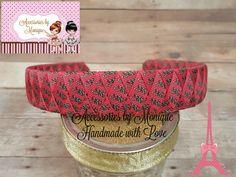 OUTDOORS Ribbon Woven HEADBAND Deer Hunting Inspired Hairband Girl Teen Adult 1-inch Headband Grosgrain Ribbon Woven Headband by AccessoriesByMonique on Etsy