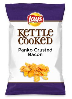 Wouldn't Panko Crusted Bacon be yummy as a chip? Lay's Do Us A Flavor is back, and the search is on for the yummiest flavor idea. Create a flavor, choose a chip and you could win $1 million! https://www.dousaflavor.com See Rules.